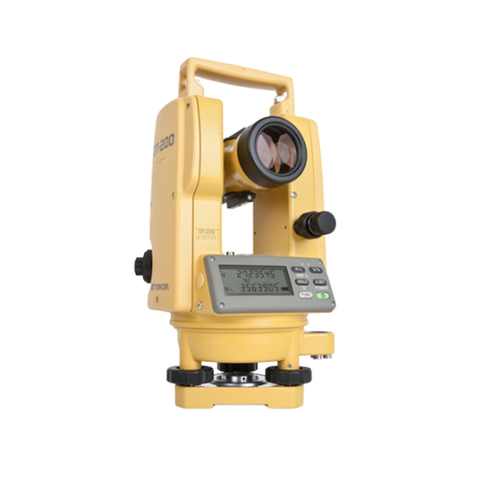 Topcon DT-209 Digital Theodolite, Angle Measuring, Construction Theodolite