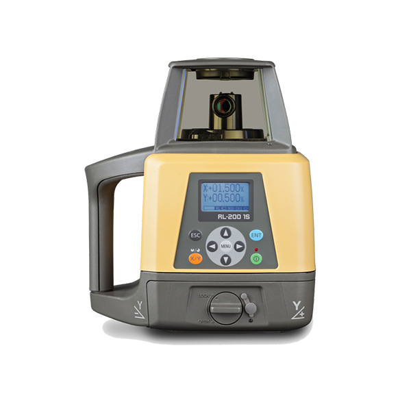 Topcon RL-200 2S Dual Grade Rotary Laser Level, Rotating Laser Level