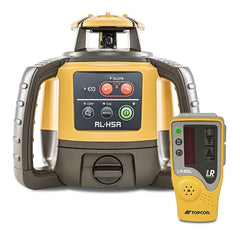 Topcon RL-H5A Rotating Laser Level, Rechargeable STANDARD - LS80L Receiver, Rotary Construction Laser Level