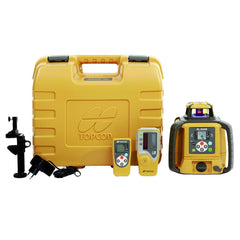 Topcon RL-SV1S Single Grade Rotary Laser Level, Rechargeable STANDARD - LS80L Receiver, Rotating Laser Level