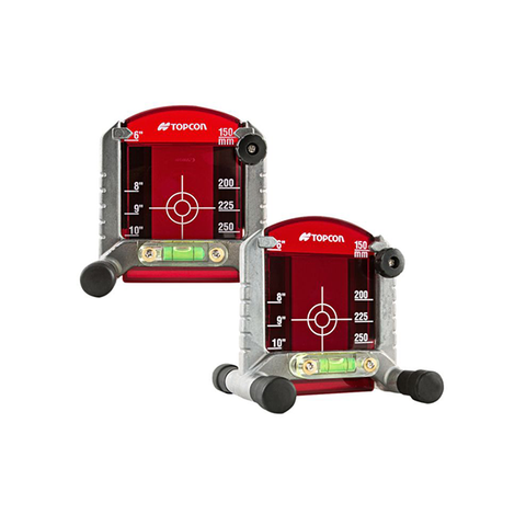 Topcon Red Adjustable Target Kit for Pipe Lasers