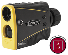 TruPulse 200 Laser Range Finder, Laser Distance Measurer, Tru Pulse Measuring