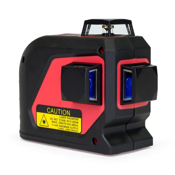 Tuf Lasers CROSSLINE - Red Beam / Green Beam - Multi Line Laser Level 3 Axis Crossliner