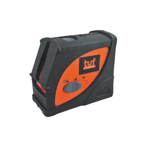Tuf Lasers CROSSLINE Cross Laser Level, Red Beam