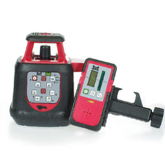 Tuf Lasers HVG Rotating Laser Level with Laser Receiver