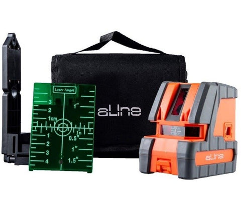 a-Line CL-5DG Green Beam 5 Point Laser Level