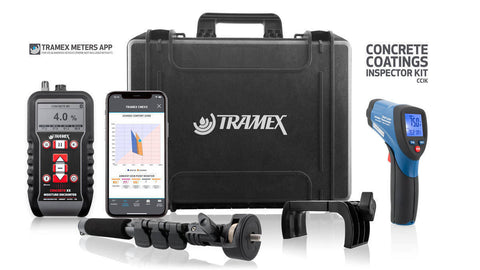 Tramex Concrete Coating Inspector Kit