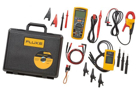 Fluke 1587/MDT FC 2-in-1 Adv Motor & Drive Kit W/i400 Current Clamp & 9040 Phase Rotation Indicator