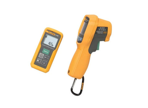 Fluke 414D/62MAX+ 414d Laser Distance Meter and 62 Max Ir Thermometer