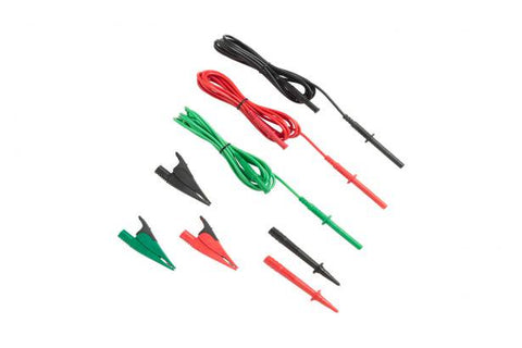 Fluke TL1550B Test Lead Set with Alligator Clips, Red