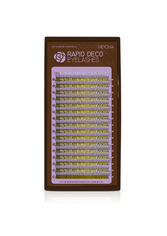 Rapid Deco Eyelashes-Silver