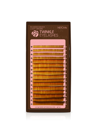 Light Brown Twinkle Lash Mix Tray 2