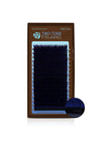 Two Tone Eyelashes Black-Blue Mix Tray