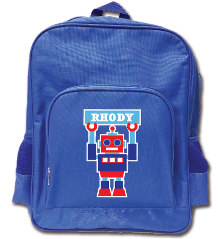 88ca863bd1ec Rhody Robot Kindy Backpack | Shop 4 Kids | Presents & Gifts – Custom4Kids