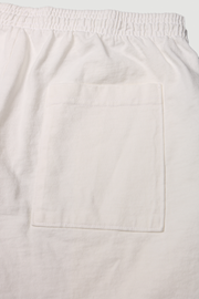HEAVY COTTON LOGO SHORT - WHITE