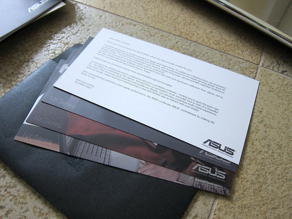 Asus NX90JQ Notebook, Design by David Lewis