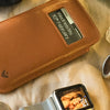 NueVue iPhone 8 / 7 tan leather case lifestyle 2