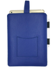 iPad Pro Sleeve Case in French Blue Faux Leather | Screen Cleaning and Sanitizing Lining