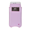 NueVue vegan leather case for iphone 6 sugar purple front window