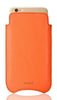 NueVue iPhone 8/7 Flame Orange pouch case rear