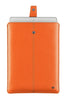 NueVue iPad case orange vegan leather ipad front