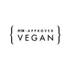 NueVue vegan approved PETA logo