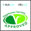 NueVue VegSoc approved logo