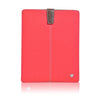 Apple iPad sleeve cover case Coral Pink Canvas Screen Cleaning with protective antimicrobial lining