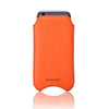 NueVue iPhone case faux orange rear