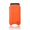 NueVue iPhone case orange faux front