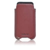 iPhone SE-1st Gen, 5 Sleeve Case in Burgundy Leather | Screen Cleaning Sanitizing Lining
