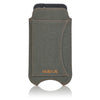 NueVue Luxury Green Cotton Twill Case rear