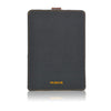 NueVue iPad mini Cotton Twill Black rear