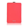 Coral Pink Canvas 'Screen Cleaning' for Apple iPad mini sleeve cover case with protective antimicrobial lining
