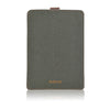 NueVue iPad mini green cotton twill rear
