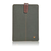 NueVue iPad mini green cotton twill front