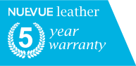 Nuevue Leather 5 Year Warranty