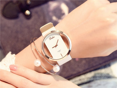 Fashion Women Watch Luxury Leather