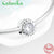 High Quality Family Forever Charms 925 Sterling Silver Beads Clear CZ Fit Original Pandora Bracelet Bangles Jewelry making