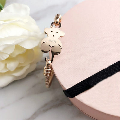 NEW tous bear Jewelry Fashion Hot  pendientes Alloy Letter Bracelet Chain Charm Bracelet Female Personality tous joyas anillo