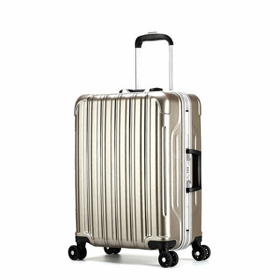 Men Baggage suitcase business travel camping suitcase aluminum male universal wheel password boarding case luggage 43L/68L