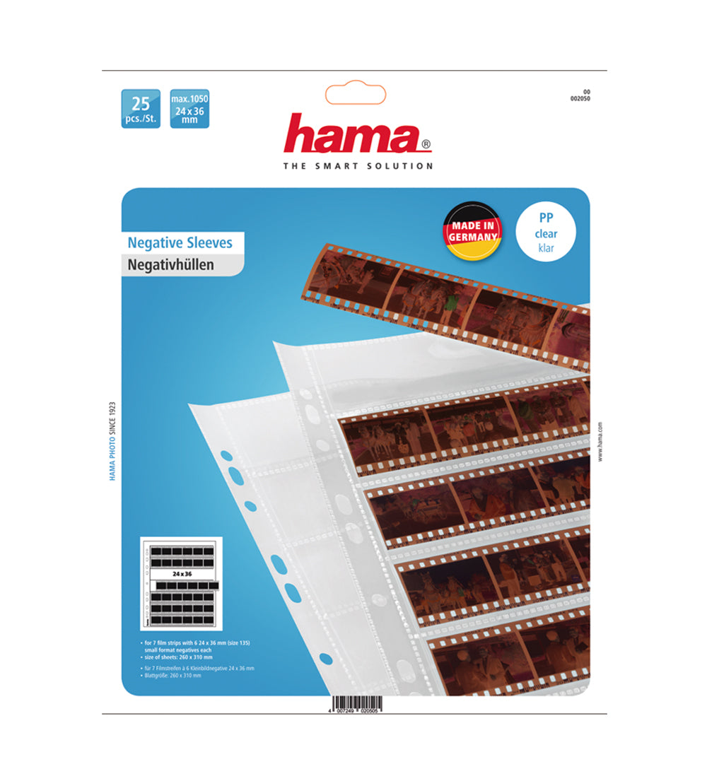 Hama 35mm Polypropylene Sleeves