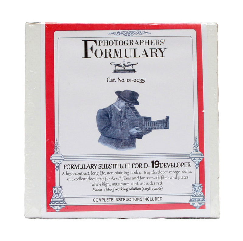 Photographers' Formulary Developer Substitute D-19