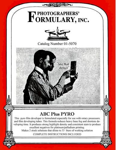Photographers' Formulary ABC PLUS PYRO FILM DEVELOPER
