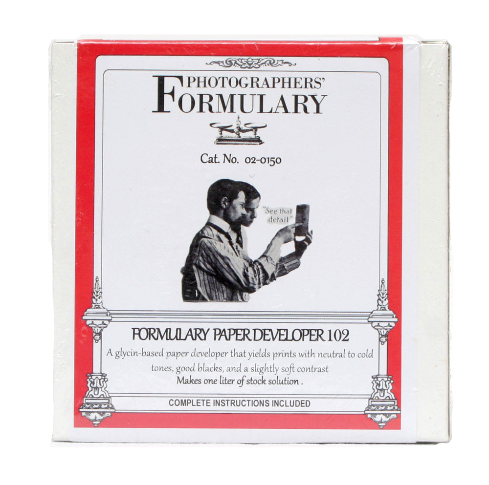 Photographers' Formulary 102 Paper  Developer
