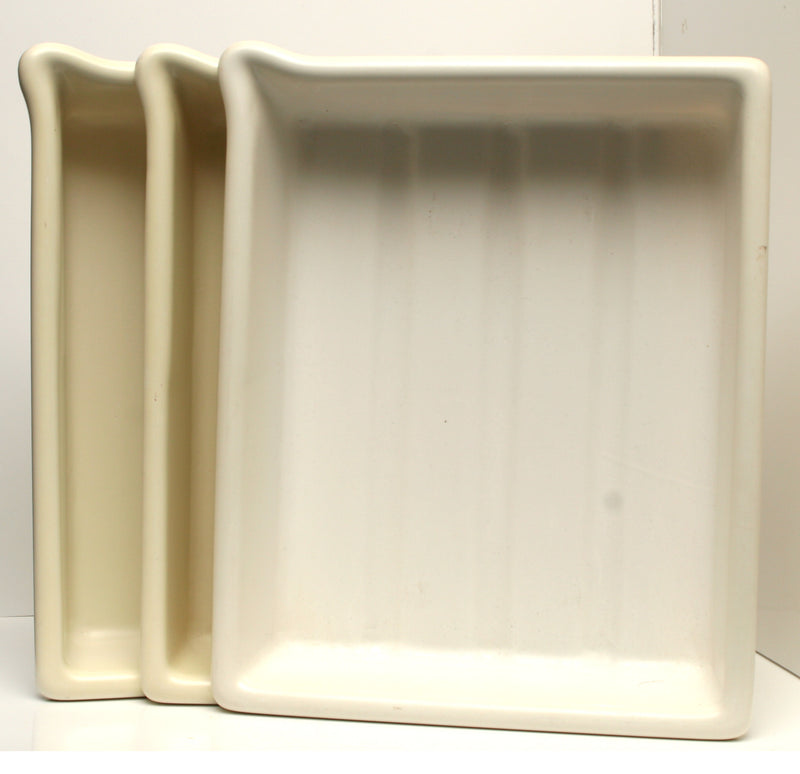 Used Developing Trays Set of Three