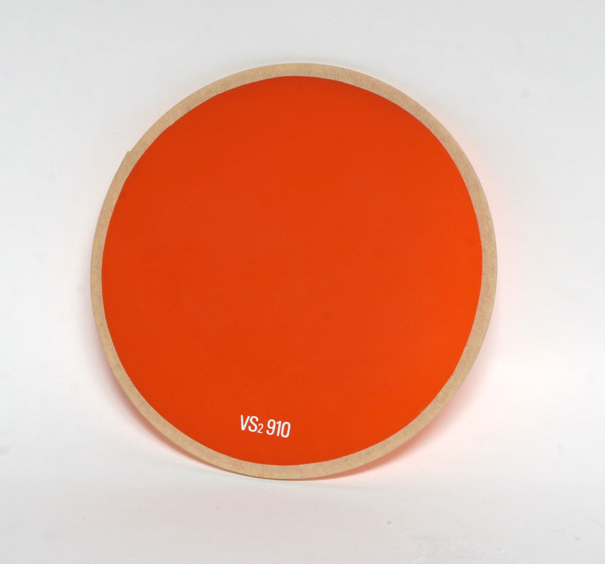 Used Ilford 14cm Safelight Filter Orange 910 For Beehive