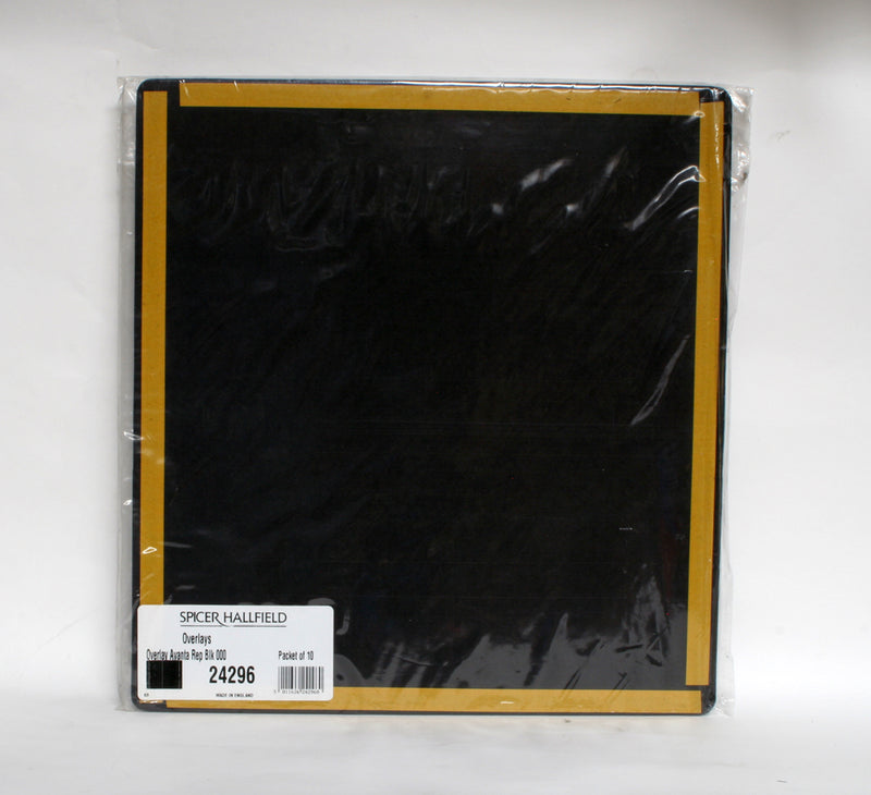 Spicer Hallfield Avanta Rep Black 12x13 Pack Of Ten