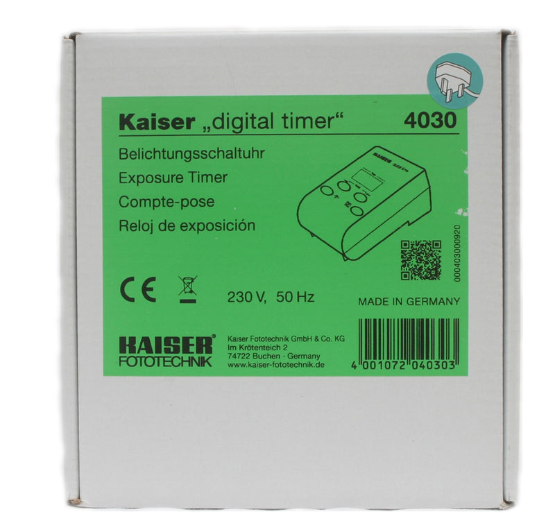 Kaiser Digital Timer Electronic Exposure Timer