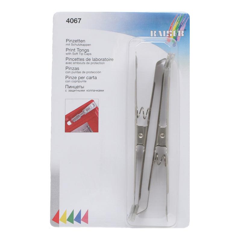 Kaiser Stainless Steel Print Tongs 4067